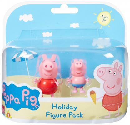 Игровой набор Peppa Pig Пеппа на каникулах 2 предмета 30627 набор игровой peppa pig 10 см