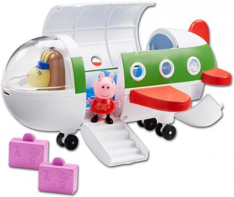 Игровой набор Peppa Pig Самолет с фигуркой Пеппы peppa pig игровой набор дом пеппы с садом 31611