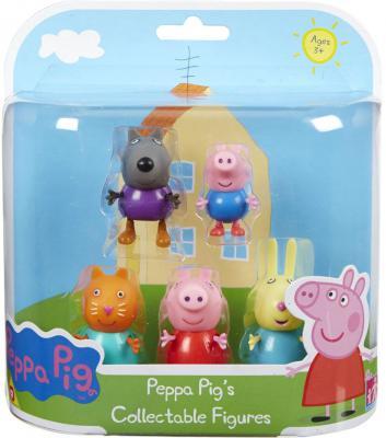 Игровой набор Peppa Pig Пеппа и друзья 5 предметов