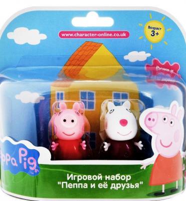 Игровой набор Peppa Pig Сьюзи и Кенди 2 предмета игровой набор пеппа и сьюзи peppa pig игровой набор пеппа и сьюзи