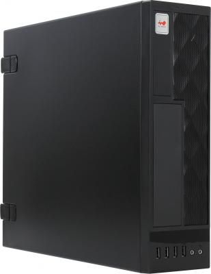 Корпус microATX InWin CE052S BL 300 Вт чёрный 6119245 корпус microatx exegate mi 205l 300 вт чёрный серебристый ex249478rus