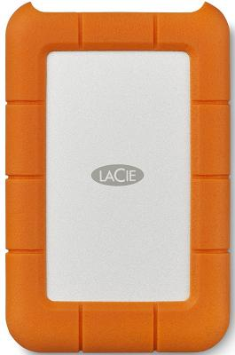 """Внешний жесткий диск 2.5"""" USB-C 1Tb Lacie Rugged Mini STFR1000800 оранжевый"""