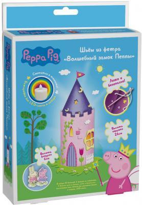 Набор для шитья Росмэн Свинка Пеппа «Волшебный замок Пеппы» от 5 лет