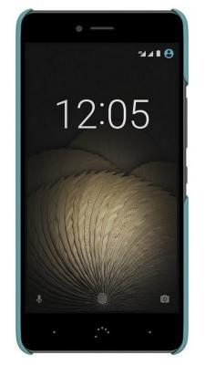 Чехол BQ для BQ Aquaris U Plus синий E000708 сотовый телефон bq aquaris u plus 32gb black
