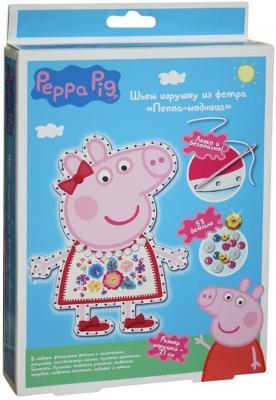 Набор для создания игрушки Peppa Pig Пеппа модница от 5 лет 31085 peppa pig транспорт 01565