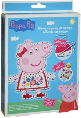 Набор для создания игрушки Peppa Pig Пеппа модница от 5 лет 31085 peppa pig playing football
