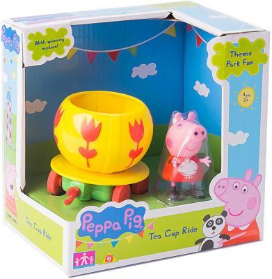 Игровой набор Peppa Pig Каталка Чашка с фигуркой 2 предмета