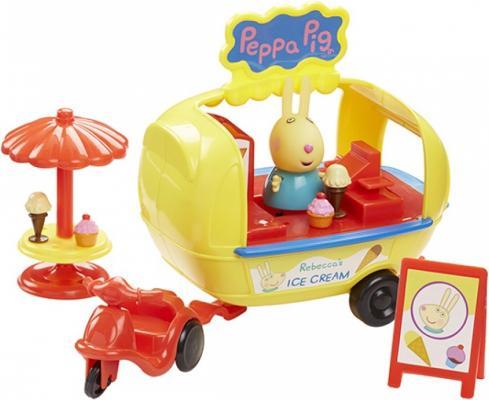 Игровой набор Peppa Pig Кафе-мороженое Ребекки игровой набор доктор peppa pig игровой набор доктор