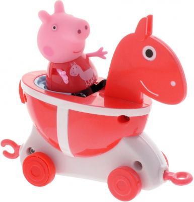 Игровой набор Peppa Pig Каталка Лошадка с фигуркой 2 предмета