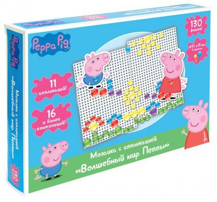 Набор для творчества РОСМЭН Peppa Pig: Волшебный мир Пеппы от 3 лет набор для творчества росмэн т м peppa pig аппликация пират джордж 29 5 24см