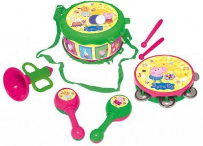 Набор музыкальных инструментов РОСМЭН Peppa Pig росмэн игровой набор самолет peppa pig
