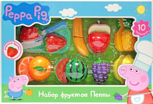 Игровой набор фруктов Peppa Pig 10 предметов 30220 игровой набор peppa pig пеппа и друзья 6 предметов 24312