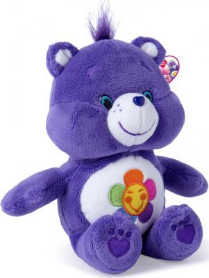 """Мягкая игрушка медведь РОСМЭН """"Care Bears"""" - Гармония 20 см сиреневый текстиль  32076"""