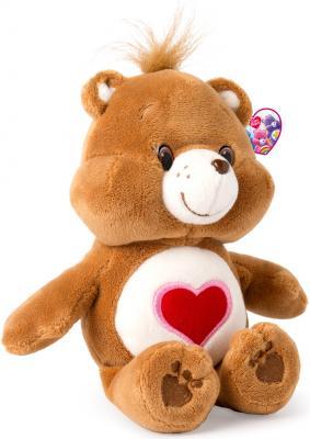 """Мягкая игрушка медведь РОСМЭН """"Care Bears"""" - Добряк 20 см коричневый текстиль  32078"""