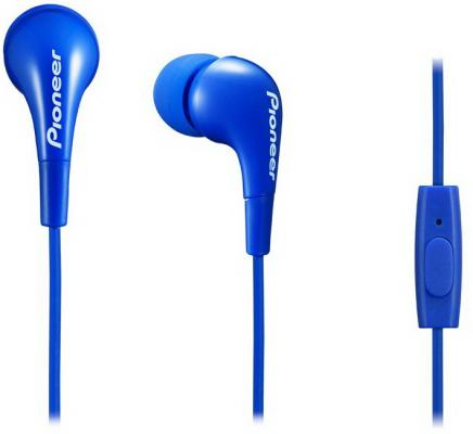 Гарнитура Pioneer SE-CL502T-L синий гарнитура pioneer se cl502t l blue