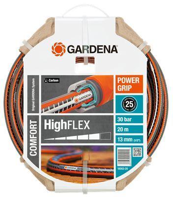 Шланг Gardena Highflex 10x10 1/2 20м 18063-20.000.00 шланг gardena highflex диаметр 1 2 длина 20 м