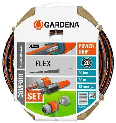 """Набор для полива Gardena Flex 1/2"""" 20м 18034-20.000.00 набор для полива gardena flex 1 2"""