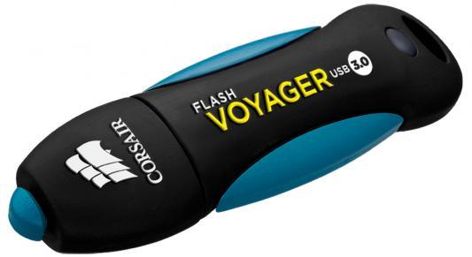 Флешка USB 256Gb Corsair Voyager GO CMFVY3A-256GB черный флешка usb 256gb corsair voyager gs cmfvygs3b 256gb серый