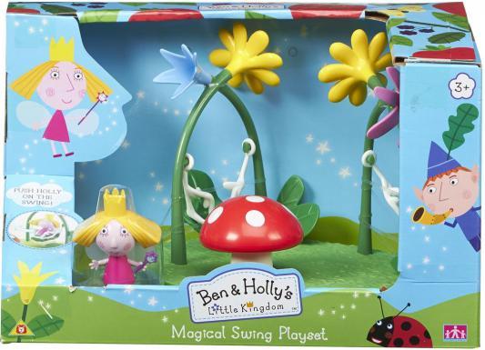Игровой набор РОСМЭН Ben&Holly игровая площадка: качели с фигуркой Холли 30975