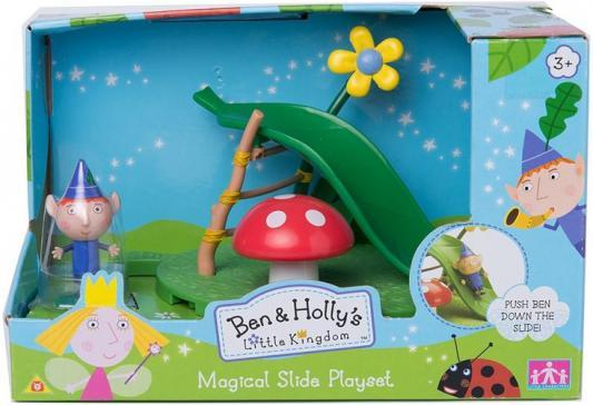 Игровой набор РОСМЭН Ben&Holly игровая площадка: горка с фигуркой Бена 30974