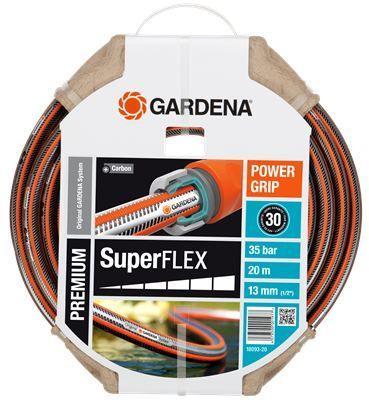 Шланг Gardena SuperFlex 1/2 20м 18093-20.000.00 шланг садовый economic трехслойный 1 20м