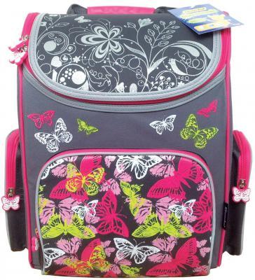Ранец с уплотненной спинкой Silwerhof Butterfly 830744 разноцветный