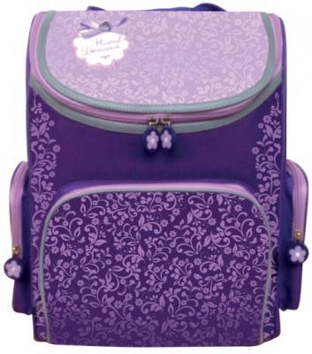 Ранец с уплотненной спинкой Silwerhof Floral Dreams 830745 фиолетовый школьный ранец silwerhof 830745 floral dreams