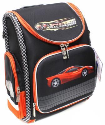 Ранец с уплотненной спинкой Silwerhof Speed черный 830741