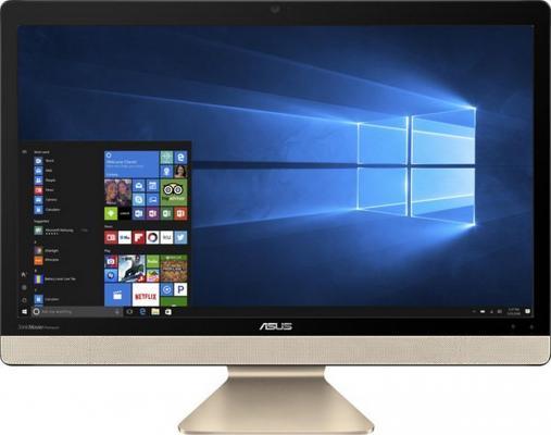 "Моноблок 21.5"" ASUS Vivo AIO V221IDGK-BA014T 1920 x 1080 Intel Pentium-J4205 4Gb 500Gb nVidia GeForce GT 920МХ 2048 Мб Windows 10 Home золотистый черный 90PT01Q1-M00570"