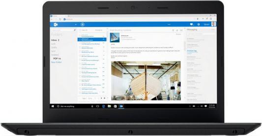 Ноутбук Lenovo ThinkPad Edge E470 14 1366x768 Intel Core i3-6006U 20H1003DRT ноутбук lenovo thinkpad edge 470 14 intel core i3 6006u 2 0ггц 4гб 500гб intel hd graphics 520 windows 10 professional 20h1003drt черный