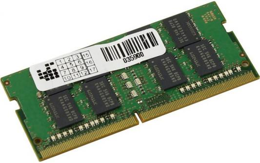 Оперативная память для ноутбуков 16Gb PC4-19200 2400MHz DDR4 SO-DIMM Samsung цена и фото