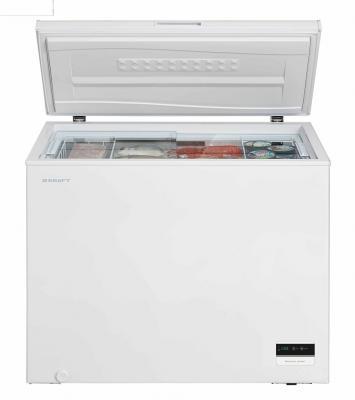 Морозильная камера Kraft BD(W)-225BLG белый морозильный ларь kraft bd w 350qx белый