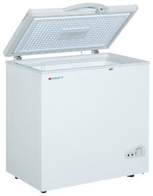 Морозильная камера Kraft BD(W)-225QX белый морозильный ларь kraft bd w 350qx белый