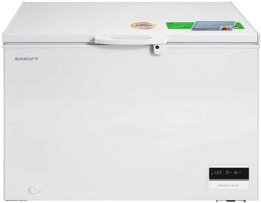 Морозильный ларь Kraft BD(W)-335BLG белый морозильный ларь kraft bd w 335blg белый