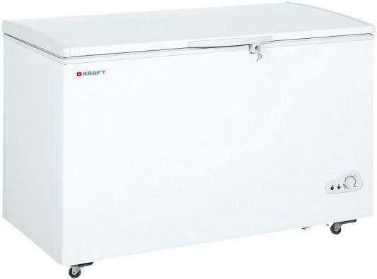 Морозильный ларь Kraft BD(W)-350QX белый морозильный ларь whirlpool whm 3111 белый