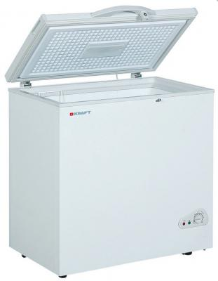 Морозильная камера Kraft BD(W)-200QX белый морозильный ларь kraft bd w 350qx белый