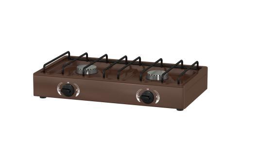Газовая плита LADA 1217 Br коричневый