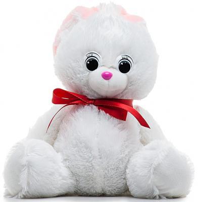 Мягкая игрушка заяц Волшебный мир Зайка моя 45 см белый искусственный мех 7С-1184-РИ