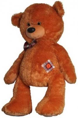 Мягкая игрушка медведь Волшебный мир Мишка Медовый 100 см коричневый искусственный мех 7с-1092-ри мягкая игрушка медведь волшебный мир мишка лапочка 45 см рыжий искусственный мех текстиль 7с 1413 ри