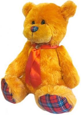 Мягкая игрушка медведь Волшебный мир Мишка Лапочка 45 см рыжий искусственный мех текстиль 7С-1413-РИ