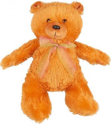 Мягкая игрушка медведь Волшебный мир Малышок искусственный мех коричневый 45 см