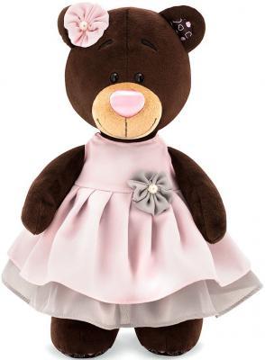 Мягкая игрушка медведь ORANGE Milk в бальном платье текстиль искусственный мех коричневый 30 см мягкая игрушка собака orange чихуа kiki малиновый блеск текстиль искусственный мех розовый коричневый 25 см ld010