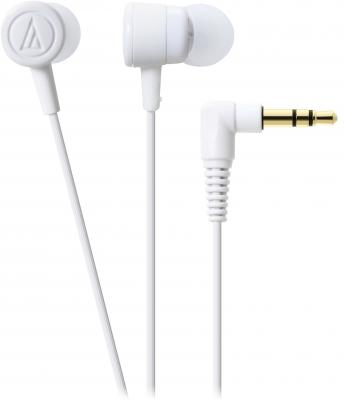Наушники Audio-Technica ATH-CKL220 WH белый гарнитура audio technica ath ckl220 black