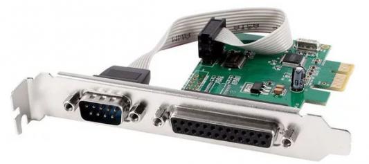 Контроллер PCI-E Orient XWT-PE1S1PV2 COM LPT Oem