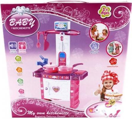 Игровой набор Shantou Gepai Детская кухня с посудой  3396
