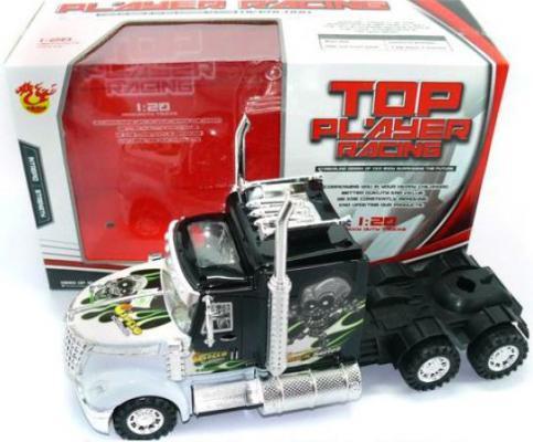 Трак Shantou Gepai Top Player Racing серебристый 32 см