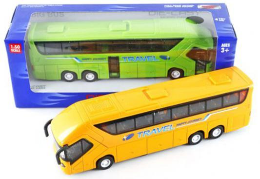 Автобус Shantou Gepai Travel в ассортименте 24 см свет, звук