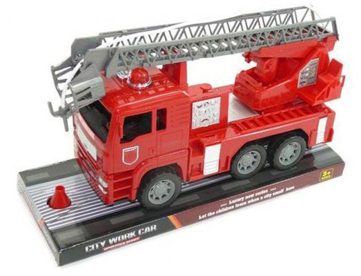 Пожарная машина Shantou Gepai City Work Car - Пожарная красный 31 см