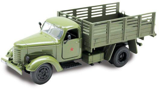 Грузовик Пламенный мотор Военный грузовик 1:36 хаки