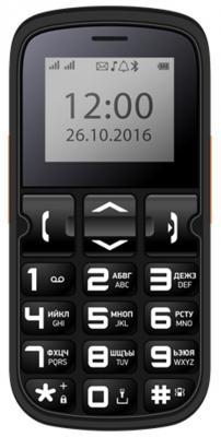 Мобильный телефон Vertex C306 черный 1.77